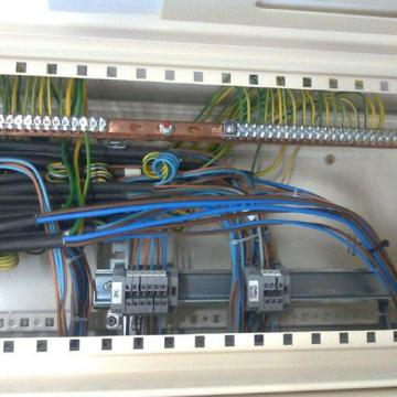 Installation électricité industrielle